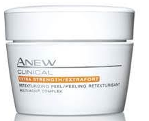 Avon Anew clinical retexturizing glycolic pads